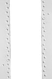Metal frame with rivets and space for text Stock Photography