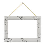 Metal frame with string Stock Images