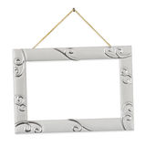 Metal frame with string Stock Photo