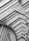 Metal frame structure Stock Photo
