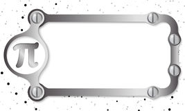 Metal frame Stock Images