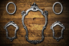Metal frames Royalty Free Stock Photos