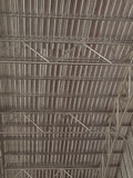 Metal Framework of The Roof. Stock Photo