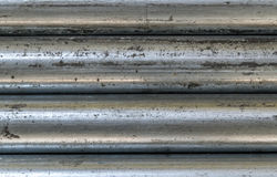 Metal galvanized old roof sheet Royalty Free Stock Photo