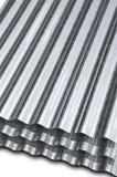 Metal galvanized sheet Stock Image