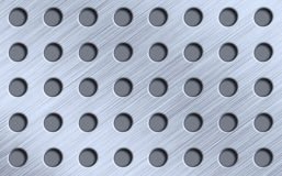Metal with gaps stock images