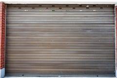 Metal Garage Door Royalty Free Stock Photography