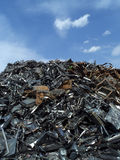 Metal Garbage Stock Photo
