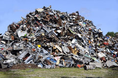 Metal garbage Royalty Free Stock Image