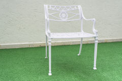 Metal Garden Chair Stock Image