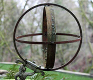 Metal Garden Sphere Royalty Free Stock Images