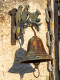 Metal Gate Bell Royalty Free Stock Image