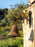 Metal Gate Bell Royalty Free Stock Images