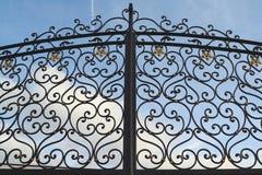 Metal gate Royalty Free Stock Image
