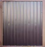 Metal gate texture Stock Photos