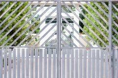 Metal gates Stock Photo