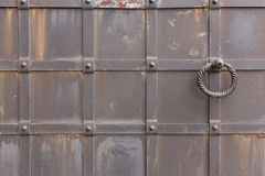 Metal gates Stock Photography