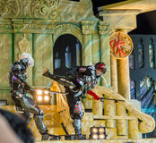 Metal Gear Rising performance in Oishi World Cosplay Fantastic 7 Stock Photos