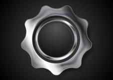 Metal gear. Steel cogwheel Stock Photography