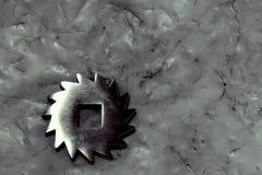 Metal gear wheel Royalty Free Stock Image