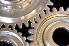 Metal gear wheels Stock Photo