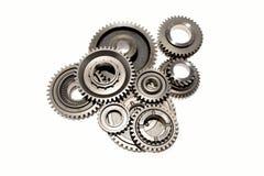 Metal gears Stock Image