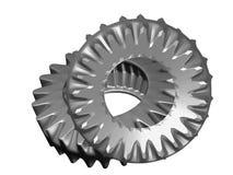 Metal gears. Car details Royalty Free Stock Image