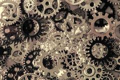Metal gears and cogwheels Background. Gears and cogwheels Stock Image