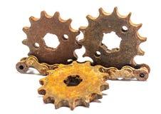 Metal gears Royalty Free Stock Photos
