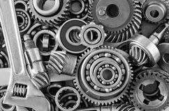 Metal gears Stock Photography