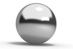 Metal geometric shapes sphere Royalty Free Stock Photos