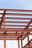 Metal girders Royalty Free Stock Photography