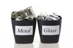Metal and glass Stock Photography