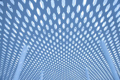 Metal and glass roof. Of a mall Royalty Free Stock Photo