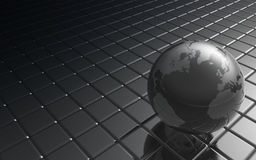 Metal Globe Stock Image