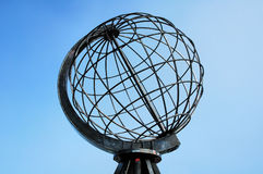 Metal globe Stock Photo