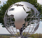 Metal globe Royalty Free Stock Photo