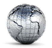 Metal globe Stock Photos