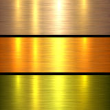Metal gold texture background Royalty Free Stock Photography