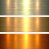 Metal gold texture background Royalty Free Stock Photo