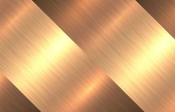 Metal gold texture background Royalty Free Stock Photos