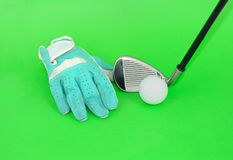 Metal golf driver Royalty Free Stock Photography