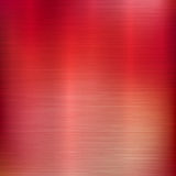 Metal Gradient Technology Background. Metal abstract red colorful gradient technology background with polished, brushed texture, chrome, silver, steel, aluminum Stock Photography