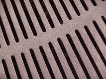 Metal grate Stock Image