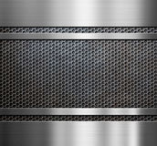 Metal grate background Stock Photo