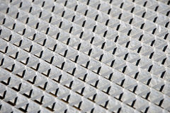 Metal grate Stock Photo