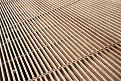 Metal grate Royalty Free Stock Image