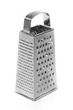 Metal grater. Isolated on white royalty free stock photos
