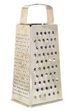 Metal grater with handle Stock Image