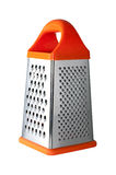 Metal grater with handle isolated. On white background Royalty Free Stock Image